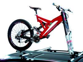 Voorvork fietsendrager voor op dakdragers - Hakr